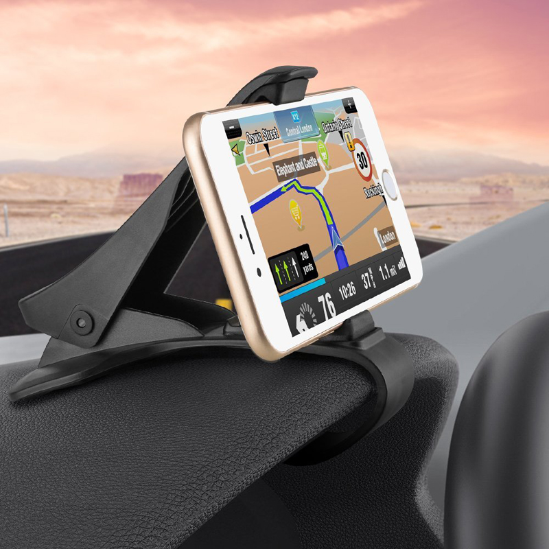 BOAOSI Adjustable Car Phone Holder Dashboard Mount For Kia Rio K2 K3 Ceed Sportage 3 sorento cerato armrest picanto soul optima