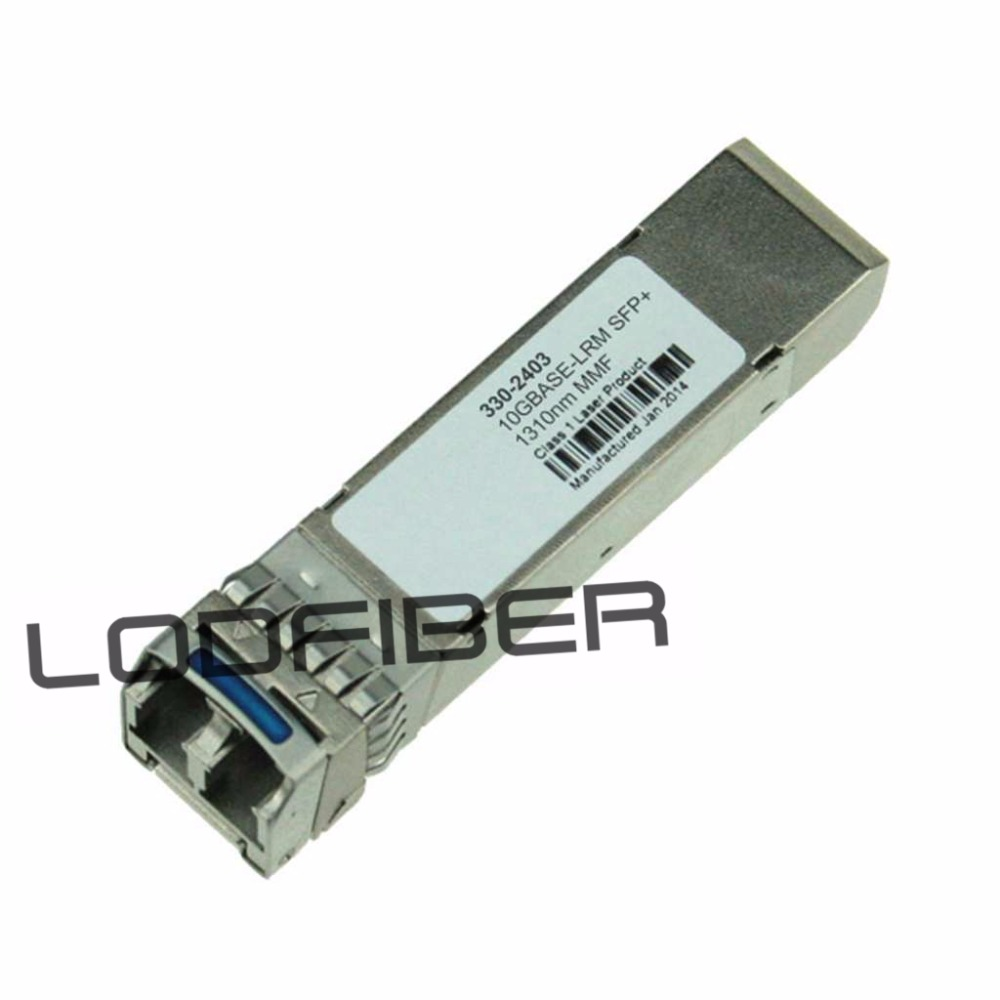 Dell PowerConnect 330-2403 Compatible 10GBASE-LRM SFP+ 1310nm 220m DOM TransceiverDell PowerConnect 330-2403 Compatible 10GBASE-LRM SFP+ 1310nm 220m DOM Transceiver