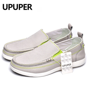 Image 3 - UPUPER לנשימה נעליים יומיומיות גברים בד נעלי 2020 קל משקל עצלנים גברים נעלי נהיגה דירות הליכה סניקרס גברים