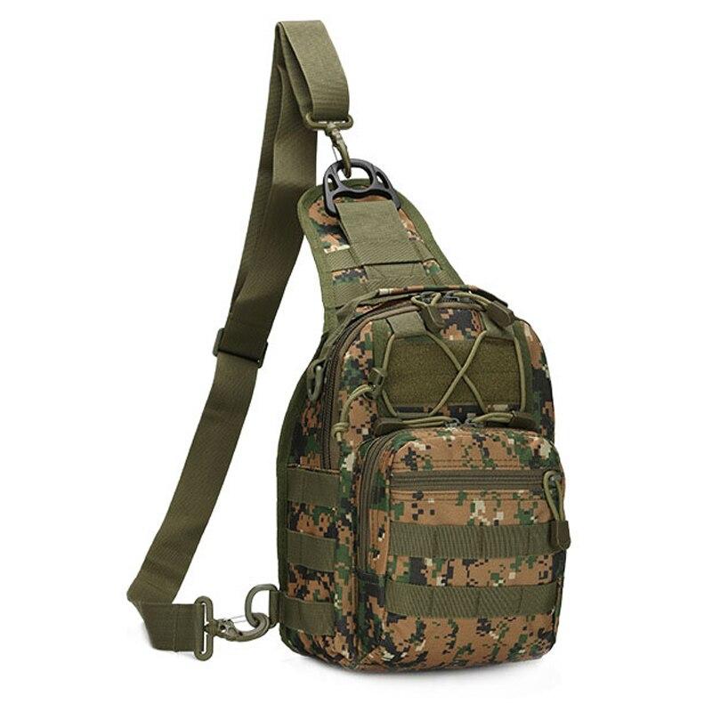 Bolsas de Mensajero para hombre de Ocio de Camuflaje Táctico Militar Hombro Pack