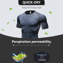 Quick Dry Tank Man's T-Shirt Gym Fitness Tights