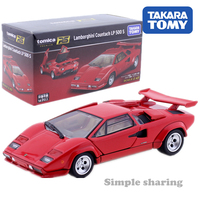 Tomica Premium RS Lamborghini Countach LP 500 S Scale 1:43 in stock sports car Takara TOMY vehicle Diecast metal model new toys