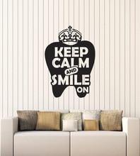 ויניל קיר applique שיניים רפואת שיניים רופא שיניים משרד ציטוטים פנים מדבקת קיר 2YC10