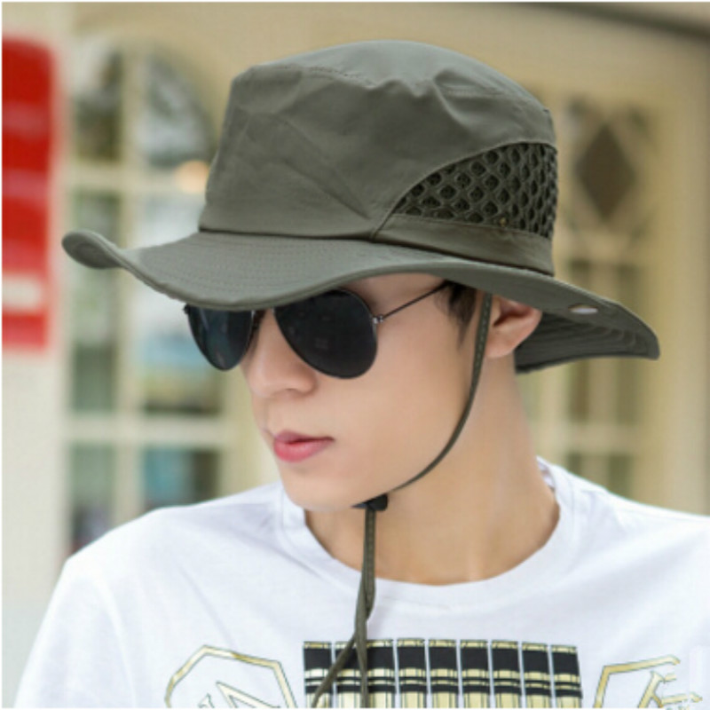 5337345ccdd4b Folding Fishing Caps Outdoor Sunbonnet Mens Women Fisherman Hat Fishing  Accessories pesca-in Fishing Tackle Boxes from Sports   Entertainment on ...