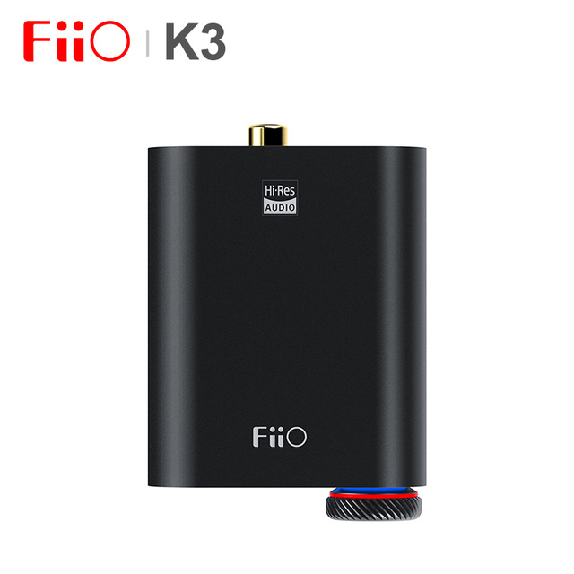 (Big coupon) + FiiO K3 Portable Casque Amplificateur DSD DAC USB pour PC, soutien COAXIAL/OPTIQUE/2.5 ÉQUILIBRE