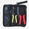 Набор ручных обжимных инструментов с зачистки кабеля и сменными плашками  набор обжимных инструментов для обжимных клемм