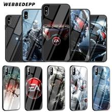 Чехол для телефона WEBBEDEPP crisis 3 из закаленного стекла для Apple iPhone XS Max XR X 8 7 6 S Plus 5s SE