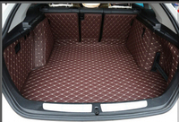 Good carpets! Special trunk mats for BMW 320i Gran Turismo F34 2017 2013 wear resisting boot carpets cargo liner,Free shipping