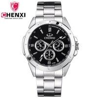Luxury CHENXI Watches Business Men S Watch Stainless Steel Strap Wristwatches Multifunctional Quartz Watch With Date
