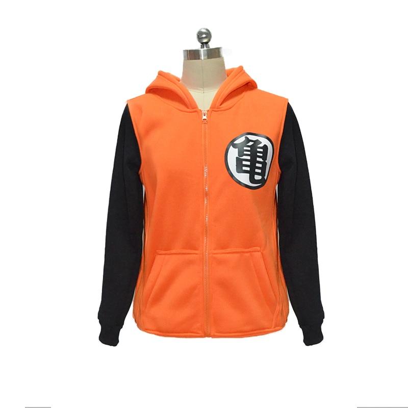 Dragon Ball Z Son Goku Kame Hoodie Jacket Anime Cosplay Hooded Sweatshirt