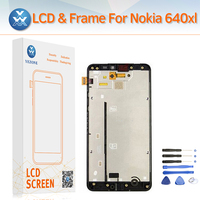 Mobile Phone LCD For Microsoft Nokia Lumia 640XL LCD Display Screen Touch Digitizer Panel Frame Complete