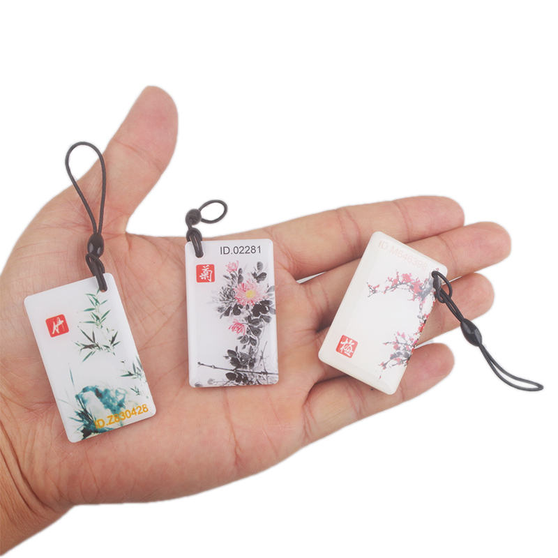 Access Control Access Control Cards 2019 Fashion Waterproof 125khz Rfid Card Contactless For Fingerprint Lock Use Key Chain Tk4100 Door Entry Access High Quality Can Be Repeatedly Remolded.