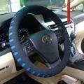 2017 Mais Novo tampa da roda de direcção do carro de Perfuração EVA 38 CM Universal Auto car volante covers
