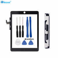 Netcosy Tablet Touch Panel For Ipad Air 1 A1474 A1475 Touch Screen Digitizer Without Home Button