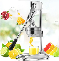juicer manual juicer squeeze fruit lemon orange watermelon blender DIY fruit maker stainless steel Hand