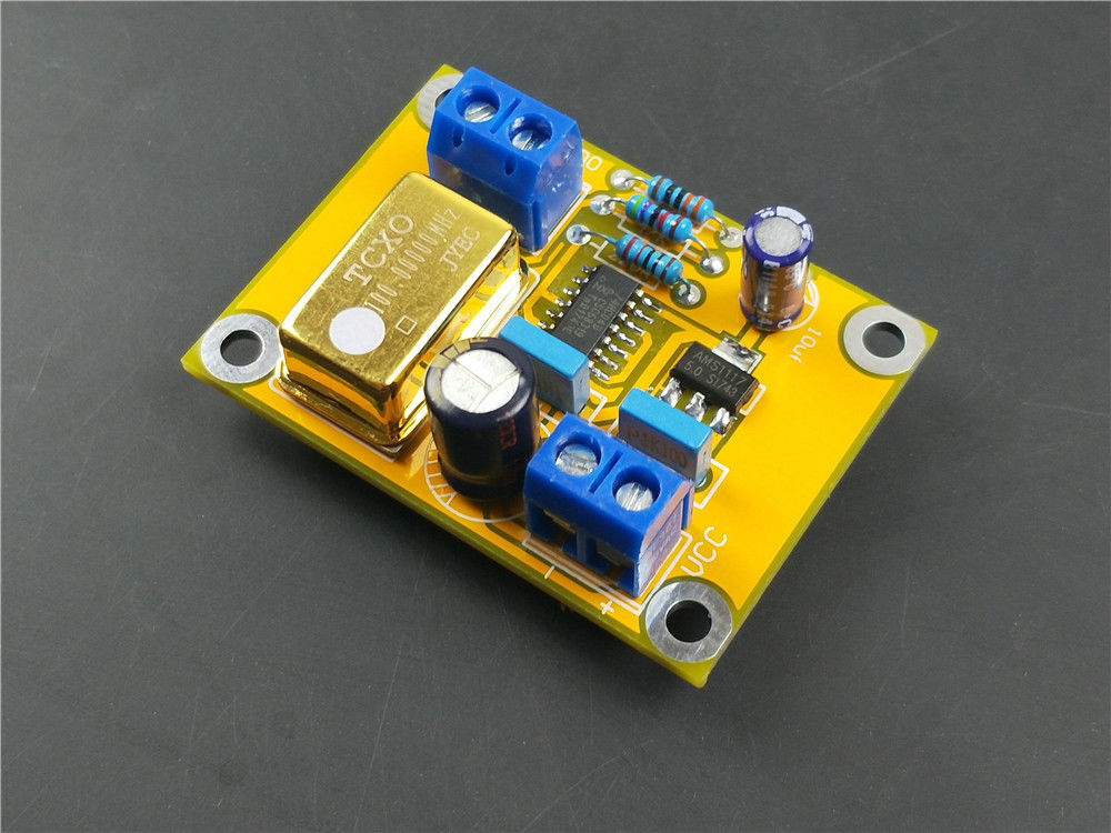 100MHZ hifi TCXO 0 1ppm Ultra precision Golden Active DIP14 Crystal  Oscillator CLOCK for DAC audio