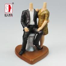 Wedding Cake Topper wedding gift custom avatar personality custom real doll custom clay dolls fixed resin body SR033