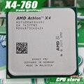 Бесплатная доставка AMD X4 760 К Четырехъядерный процессор FM2 3.8 ГГц 4 МБ 100 Вт процессор шт X4-760 (рабочая 100%), есть, продаем X4 750 К 750