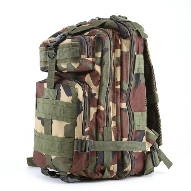 Military Molle Backpack Waterproof Oxford Nylon Camouflage 30L Bag  Traveling Army Fan Soldier Warriors  Multifunctional Big Bag 14bb97751223f
