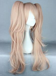 Image 3 - Anime Dangan Ronpa Enoshima Junko Wig Cosplay Costume Danganronpa Women Hair Halloween Women Wigs