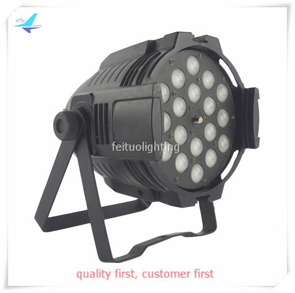 6pcs/lot Stage LED Par Can Light Zoom 18x18w RGBWA UV 6IN1 High Power Strobe DMX Lighting Indoor DJ Show Party Wedding Zoom Lamp
