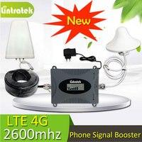 1 компл. усиления 65dB FDD LTE 2600 группа 7 сотовый телефон усилитель сигнала 2600 LTE усилитель сигнала повторитель с 3g 4G антенны 10 м кабель
