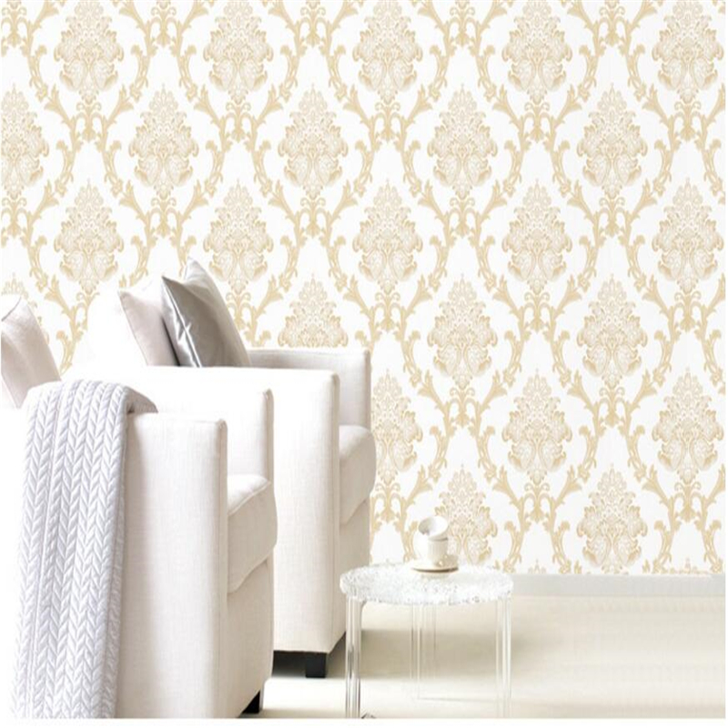 beibehang Continental Damascus bedroom TV background