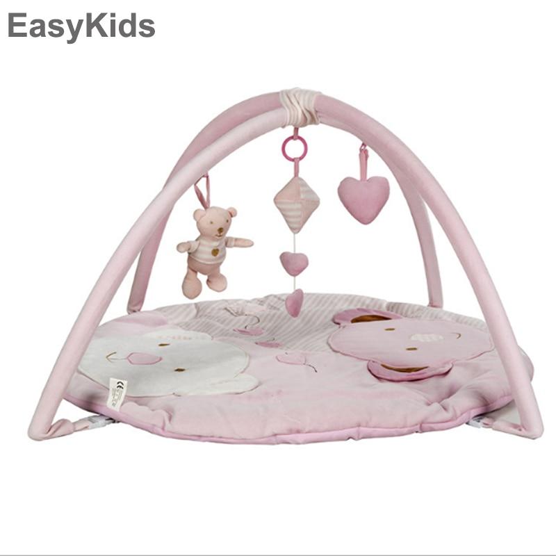 kids rug 90 50cm play mats baby game mat toys soft musical. Black Bedroom Furniture Sets. Home Design Ideas