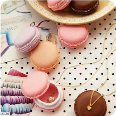 6 màu sắc Macaron Dễ Thương Kẹo Pill Trường Hợp Pill Organizer Thuốc Hộp Thuốc Pill Container Vòng Lưu Trữ Kẹo Màu cho Thuốc Viên trường hợp