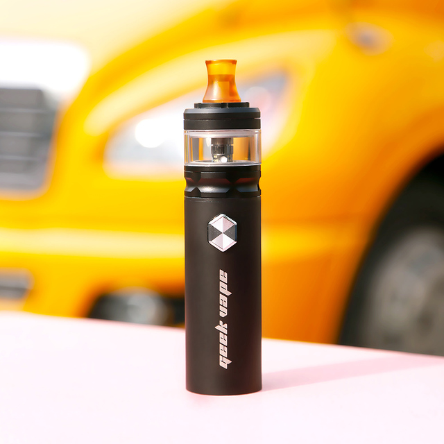 , New Original Geekvape Flint Kit with 1000mah Battery LED Indicator Electronic Cigarette Vape Pen MTL Vape Vaporizer with NS Coil