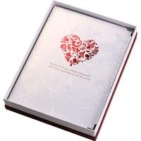 Kreative Klebrige Boxed DIY Fotoalbum Freies Accesorries Red Box Hochzeit Autogramm Album Liebhaber Mitschüler Handgemachte Scrapbooking