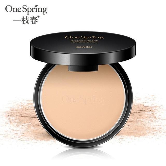 OneSpring Cartilha Base de Maquiagem Concealer Palette Contorno Fundação Bronzer Com Puff Rosto Esconder Defeito Cobertura Completa