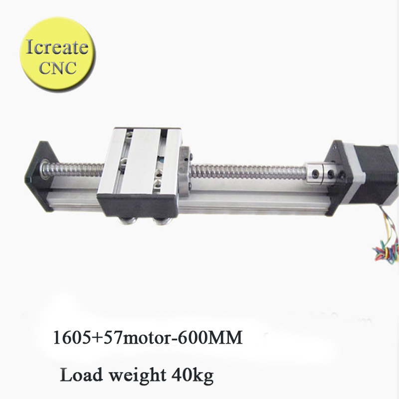 Buy free shipping 600mm linear motion for Motorized linear motion slides