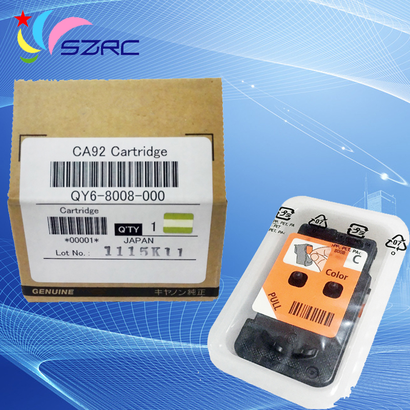 High Quality Original New QY6-8008 Print Head Printhead CA92 Cartridge For Canon G1800 G2800 G3800 G4800 Printer new original print head qy6 0061 00 printhead for canon ip4300 ip5200 ip5200r mp600 mp600r mp800 mp800r mp830 plotter