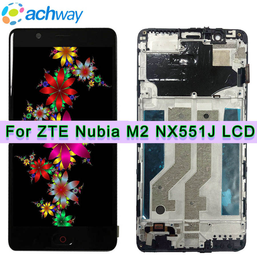 For ZTE Nubia M2 NX551J LCD Display Touch Screen Digitizer Assembly Replacement Tools Adhesive For ZTE