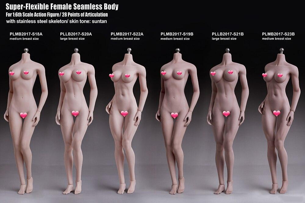 Новый 2017 Phicen 1/6 супер гибкие женские бесшовные средства ухода за кожей фигурку 28 точек сочленения с нержавеющая сталь Скелет