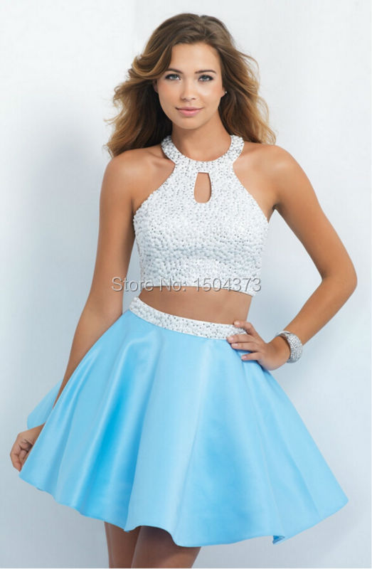 Silver Short Formal Dresses Juniors