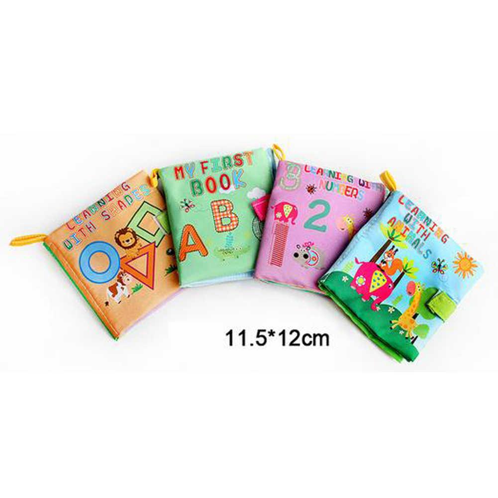 4 стиля детские тканевые игрушки для обучения погремушки книжки из мягкой ткани игрушки для новорожденных звуковая коляска кроватка детская игрушка 0-36 месяцев