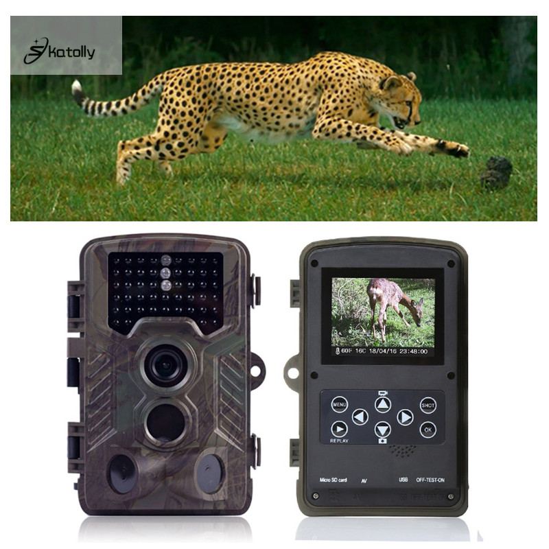 Skatolly H801 IP56 Tactical Hunting Camera  Infrared Trail Game Dustproof Precise For Outdoor Hunting Camera Pk HC300m HC-500M fire maple sw28888 outdoor tactical motorcycling wild game abs helmet khaki