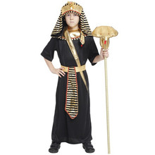 7 Sets/lot Free Shipping Kids Boys Egyptian Pharaoh Costume Halloween Masquerade Prince Fancy Dress Children Cosplay Clothes