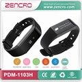 Os Batimentos Cardíacos de Pulso Rastreador Pulseira Pedômetro Monitor de Freqüência Cardíaca de Fitness do Bluetooth Frete Grátis