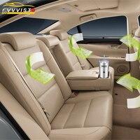 2018 VVVIST Car Air Purifiers DC 12V Auto Car Fresh Air Anion Ionizer Active Oxygen Formaldehyde Removing Electric Air Freshener