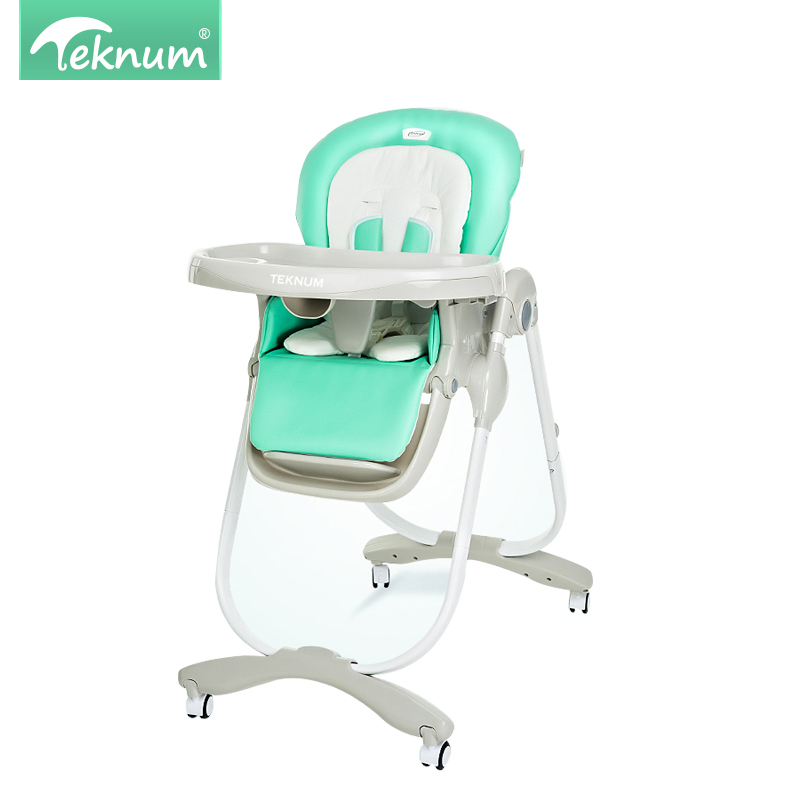 TEKNUM baby dining chair foldable multi-purpose portable child baby chair kid eat dinner table chair multi functional plastic children eat chair baby infant child seat chair table for dinner
