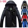 L~5XL Winter Jacket Men Thickening Warm Parka Coats Waterproof Casual Jacket Velvet Fleece Lining Jacket Windbreaker Men CF020