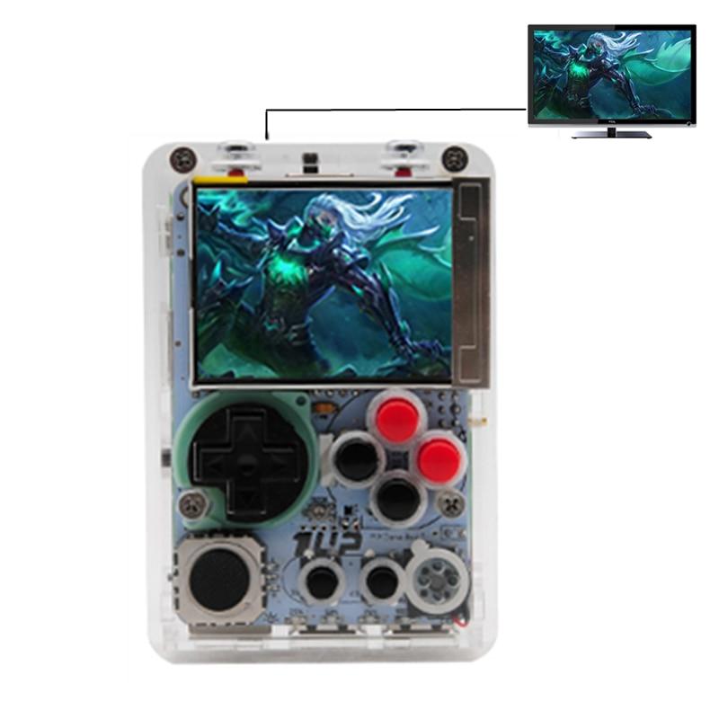 Nouveau bricolage Mini Console de jeux vidéo 2.2 pouces HD LCD écran Raspberry Pi 3 B + lecteur de jeu portable intégré plus de 10000 jeux rétro
