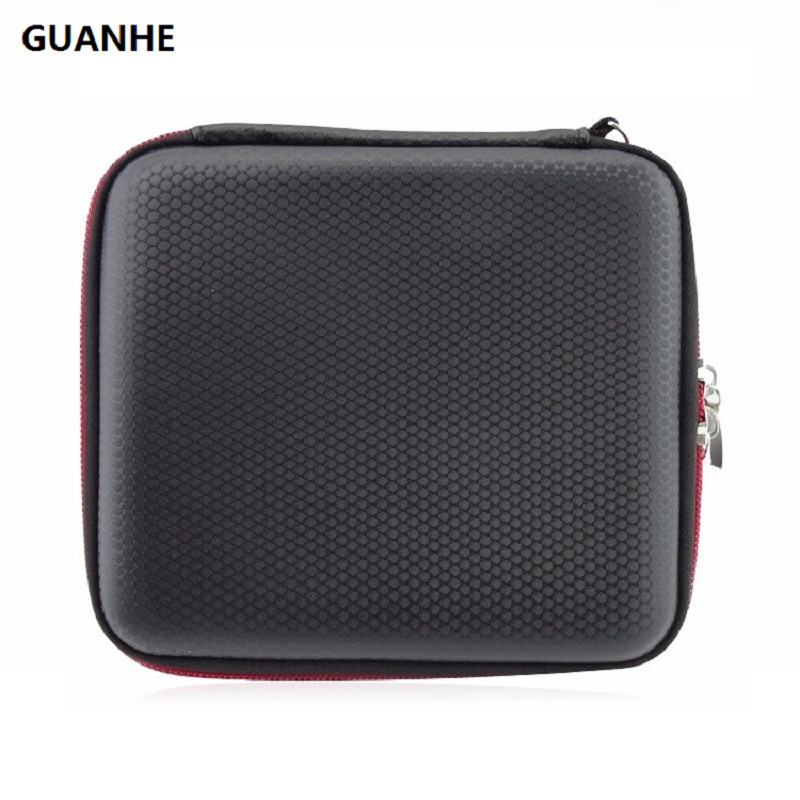 GUANHE Новий дизайнерський футляр для 2,5-дюймових жорстких дисків HDD SSD кабель для запису захисної сумки для Nintendo 2DS