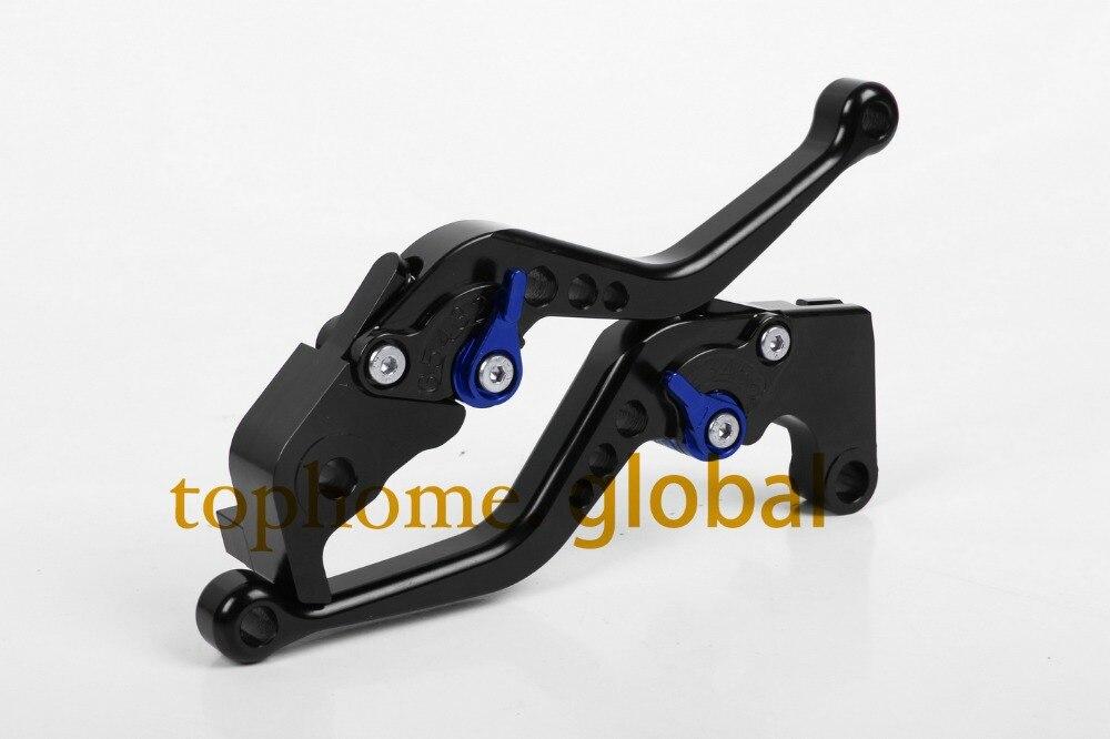For Yamaha YZF R1 2004 - 2008 2005 2006 2007 Short Black Handlebar CNC Clutch Brake Levers for adjustable cnc short brake clutch levers for yamaha yzf r6 2005 2016 yzf r1 2004 2008 r6s 2006 2007 tmax 530 500 mt10 mt09