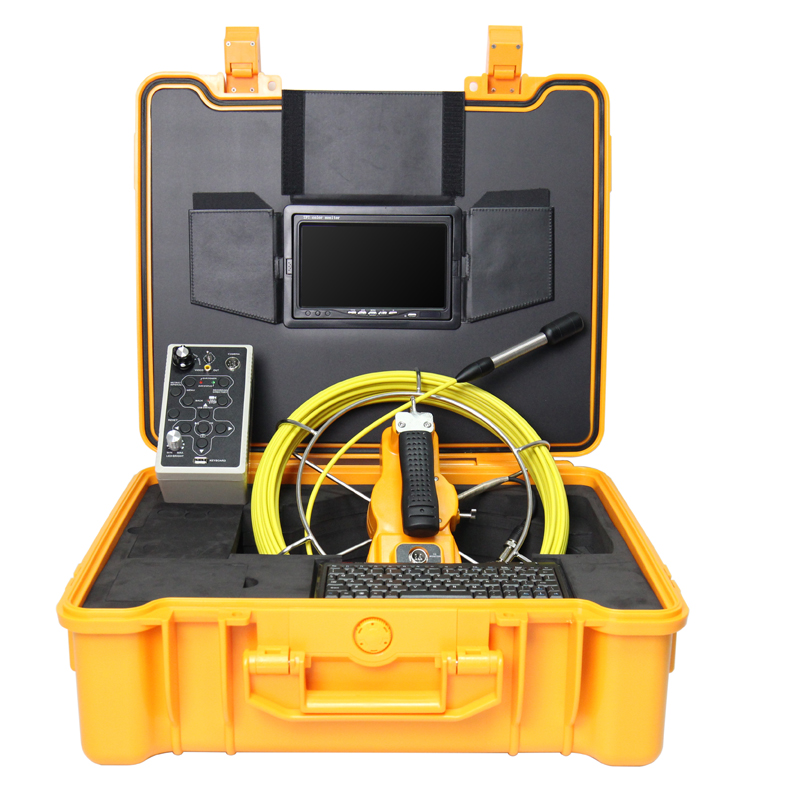 50 meters DVR waterproof industrial pipe within the inspection video camera 7 screen visual camera