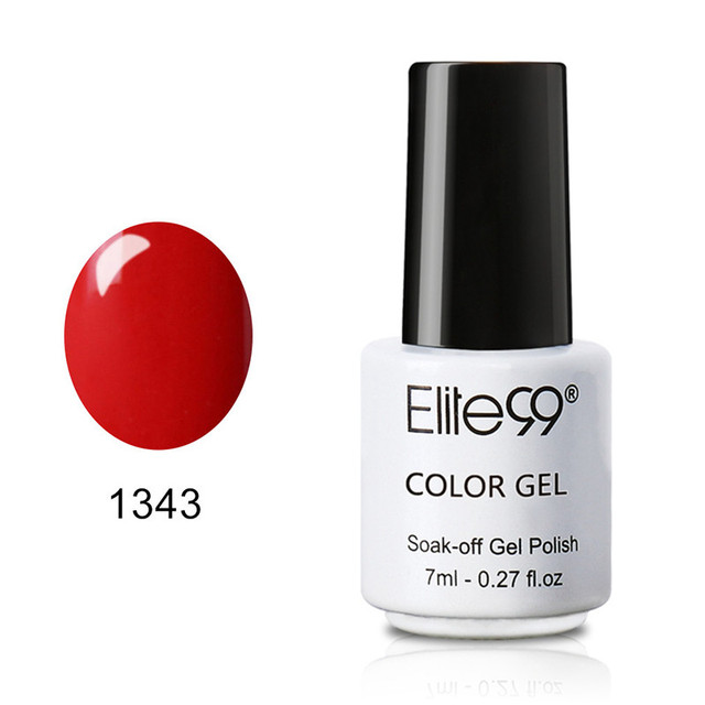 Elite99 7 ml UV LED Gel Lack Tränken Weg Nagel Gel Polish Long Lasting Gel Nagellacke Lack Für DIY nail art Design Maniküre