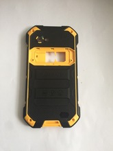 Nova blackview bv6000 bateria capa traseira escudo + alto falante para blackview bv6000s telefone smartphone + número de rastreamento